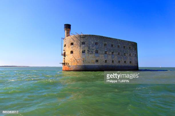 france, fort boyard. - fort stock pictures, royalty-free photos & images