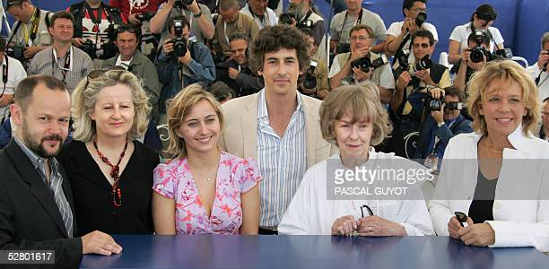 French director Gilles Marchand French journalist Genevieve Welcomme Canadian journalist Katia Chapoutier the president of the jury US director...