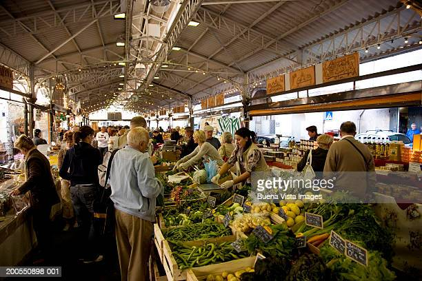 France, French Riviera, Cote D'Azur, Antibes, market