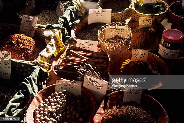 France French Riviera Cote D'azur Near Cannes Antibes Local Market Spices