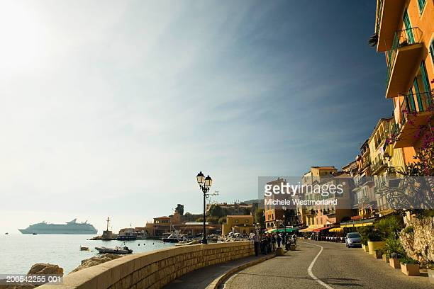 France, French Riviera, Villefranche-sur-Mer, street scene
