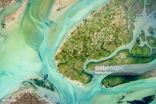 France from the sky : Bretagne, Le Conquet et la plage des blancs sablons