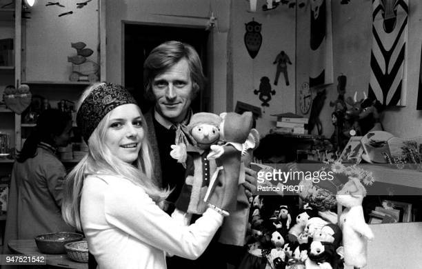 France Gall with Nino Ferrer 1969