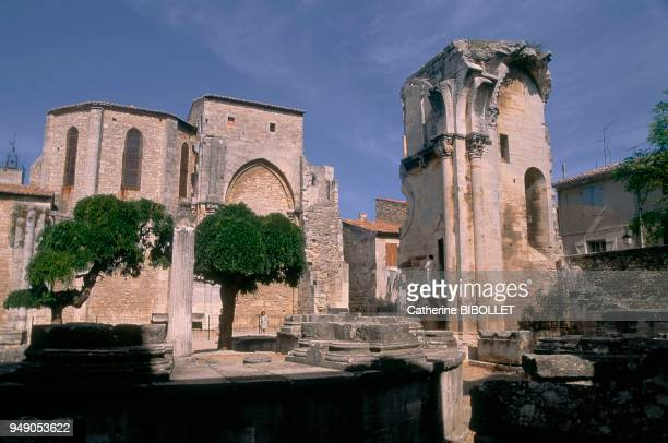 Gard SaintGilles the church and the 'screw of St Gilles' The church itself has suffered much the nave's vaults crashed down in the fire lit by...
