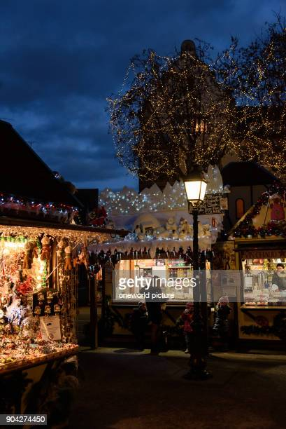 France Grand Est Colmar Christmas market Christmas in Alsace is known under the slogan 'Noel en Alsace'