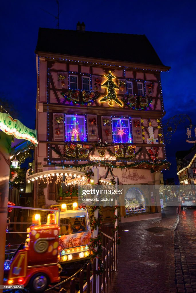 Colmar Christmas Market.France Grand Est Colmar Christmas Market Christmas In