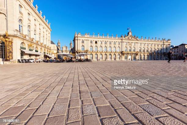 france, grand est, nancy, city hall on place stanislas - nancy stock pictures, royalty-free photos & images