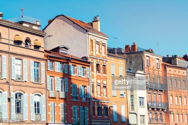 france, haute-garonne, toulouse, old town, historic buildings at place saint-etienne - midi pyrénées stock photos and pictures
