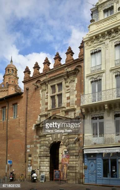 "France, Haute-Garonne/Occitania, Toulouse, , Museum ""Fondation Bemberg"", entrance and exterior view"