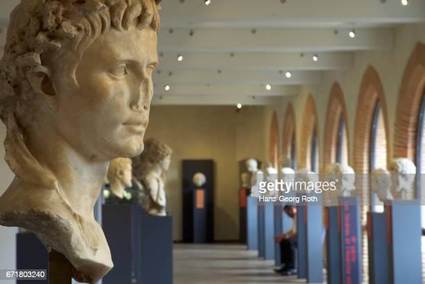 France, Haute-Garonne/Occitania, Toulouse, , Musée Saint-Raymond, Saint-Raymond Museum, sculptures and busts