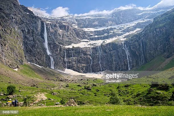 France, Hautes-Pyrenees, Pyrenees National Park, View to Cirque de Gavarnie