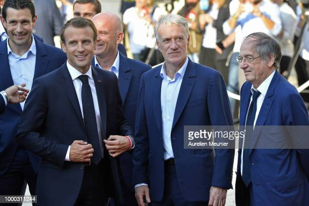 ¿Cuánto mide Didier Deschamps? - Real height France-head-coach-didier-deschamps-reacts-as-french-president-macron-picture-id1000311244?s=612x612
