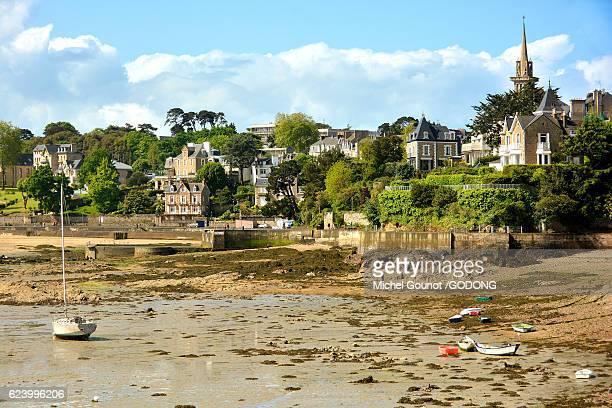 france, ille et vilaine, cote d'emeraude (emerald coast), dinard - historique stock pictures, royalty-free photos & images