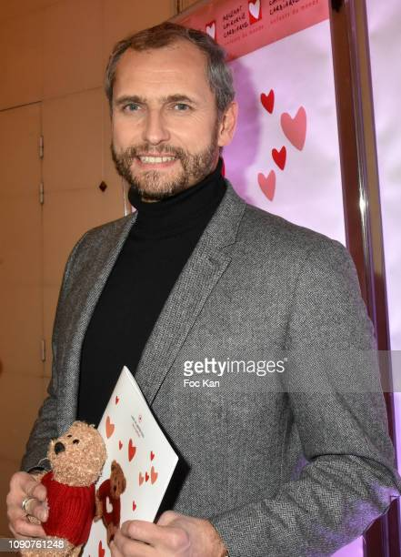 France Info journalist Louis Laforge attends the Gala du Coeur Auction Concert To Benefit Mecenat Chirurgie Cardiaque At Salle GaveauÊ on January 28...