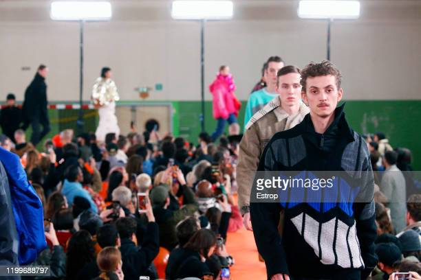 France – January 15: A model walks the runway during the Y/Project Menswear Fall/Winter 2020-2021 show as part of Paris Fashion Week on January 15,...