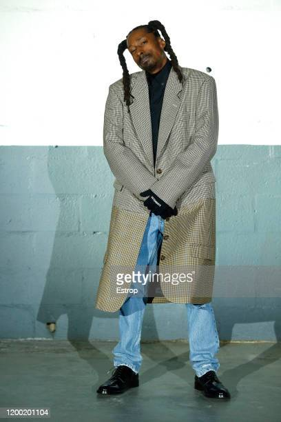 France – January 17: A model poses during the Vetements Menswear Fall/Winter 2020-2021 show as part of Paris Fashion Week on at Garage Amelot January...