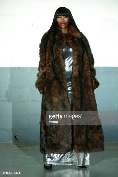 France – January 17: A model walks the runway during the Vetements Menswear Fall/Winter 2020-2021 show as part of Paris Fashion Week on at Garage...