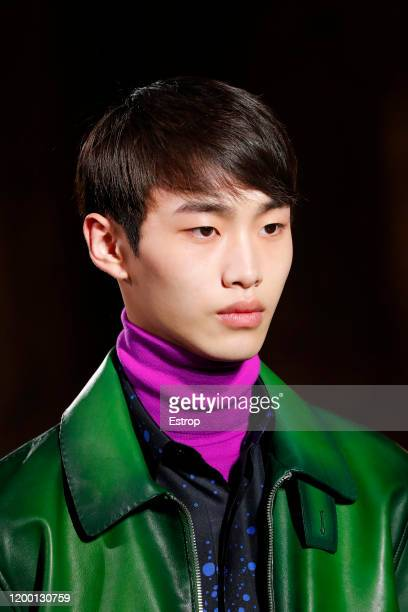 France – January 17: Headshot during the Berluti Menswear Fall/Winter 2020-2021 show as part of Paris Fashion Week at Opera Garnier on January 17,...