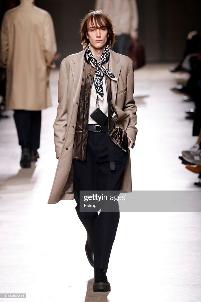 Hermes : Runway - Paris Fashion Week - Menswear F/W 2020-2021 : ニュース写真