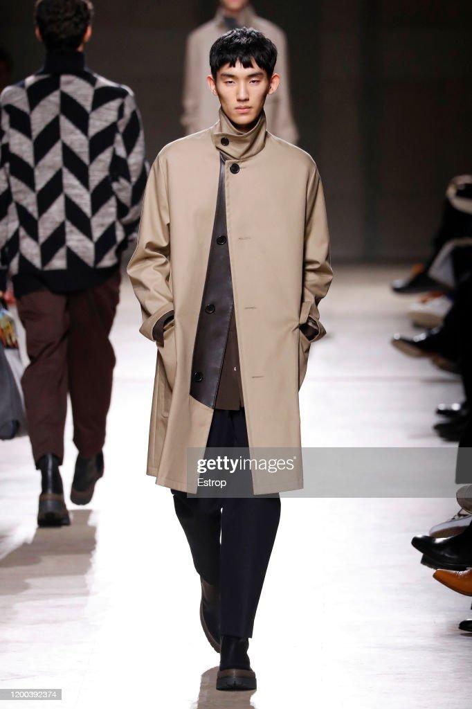 Hermes : Runway - Paris Fashion Week - Menswear F/W 2020-2021 : ニュース写真