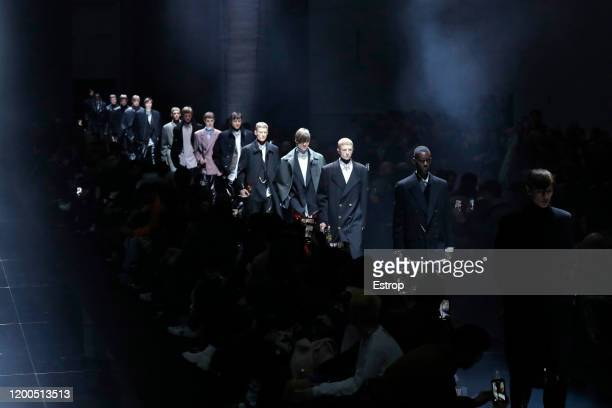 France – January 19: Atmosphere during the Dunhill Menswear Fall/Winter 2020-2021 show as part of Paris Fashion Week on January 19, 2020 in Paris,...