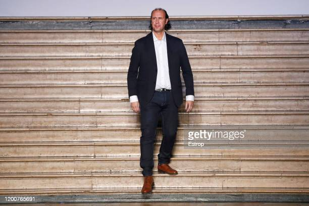 France – January 20: Fashion designer Tony Ward during the Tony Ward - Haute Couture Spring/Summer 2020 show as part of Paris Fashion Week on January...