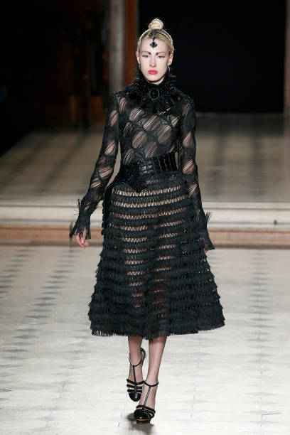 FRA: Julien Fournie : Runway - Paris Fashion Week - Haute Couture Spring/Summer 2020
