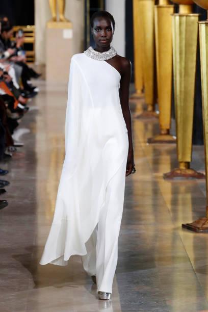 FRA: Stephane Rolland : Runway - Paris Fashion Week - Haute Couture Spring/Summer 2020