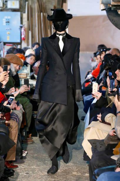 FRA: Aganovich : Runway - Paris Fashion Week - Haute Couture Spring/Summer 2020