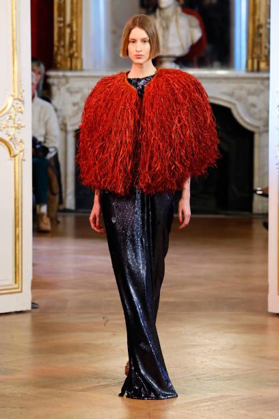 FRA: Imane Ayissi : Runway - Paris Fashion Week - Haute Couture Spring/Summer 2020