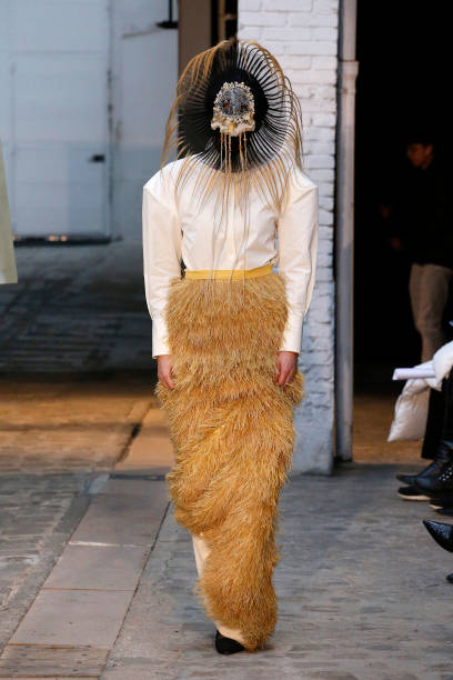 FRA: Xuan : Runway - Paris Fashion Week - Haute Couture Spring/Summer 2020