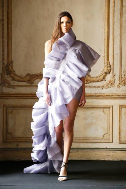 FRA: Aelis : Runway - Paris Fashion Week - Haute Couture Spring/Summer 2020