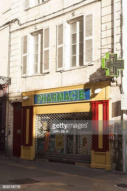 France, La Rochelle, pharmacy