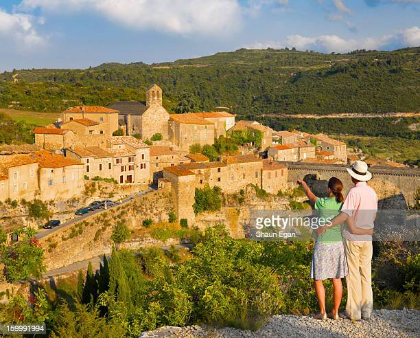 france, languedoc, minerve - herault stock pictures, royalty-free photos & images