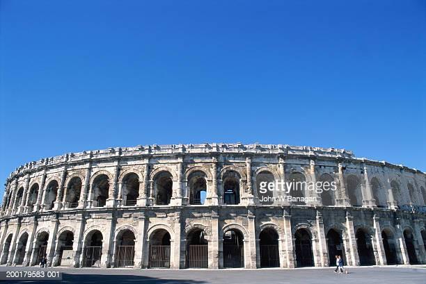 France, Languedoc-Roussillon, Nimes, Roman amphitheatre
