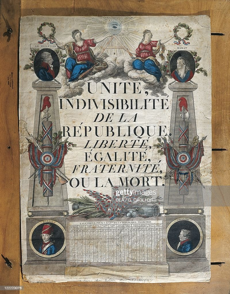 France, Paris, Unity, Indivisibility of the Republic, Liberty ...