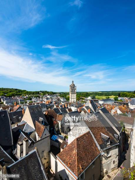France, Loches, townscape