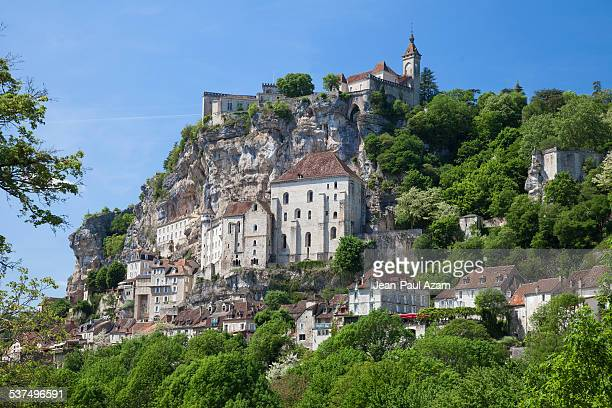 france, lot, rocamadour - rocamadour stock pictures, royalty-free photos & images