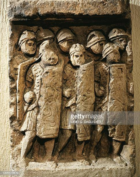 France Lyon Relief depicting roman soldiers