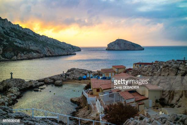france ,marseille,view of the cap croisette - calanques stock pictures, royalty-free photos & images