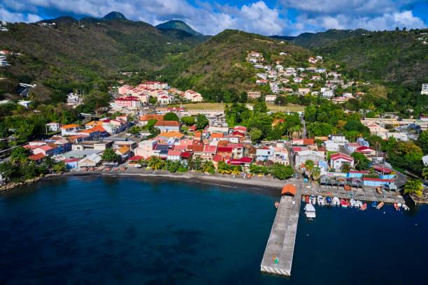 France, Martinique, Case-Pilote port