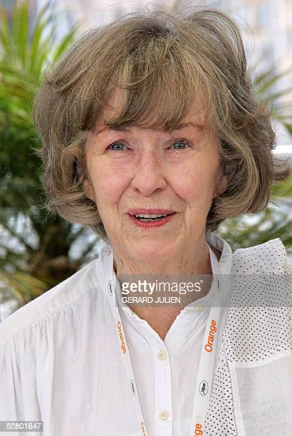 Member of the jury US actress Betsy Blair smiles during the photo call for the presentation of the Jury of the Un Certain Regard section at the 58th...
