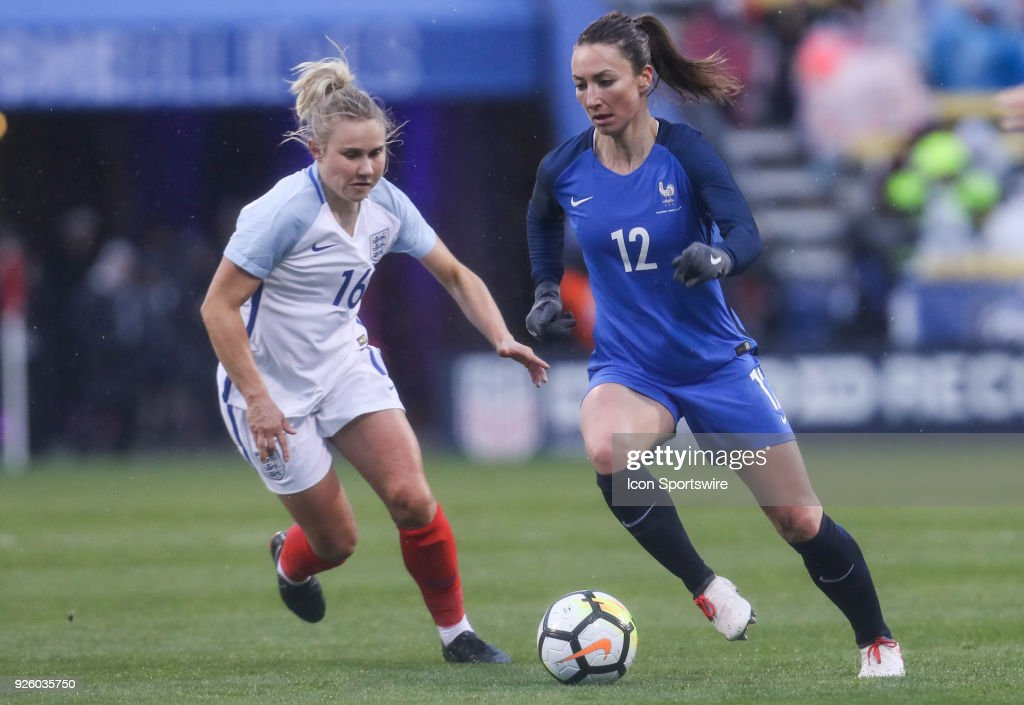 SOCCER: MAR 01 SheBelieves Cup - England v France : Photo d'actualité