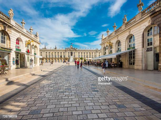 france, nancy, place stanislas - nancy stock pictures, royalty-free photos & images
