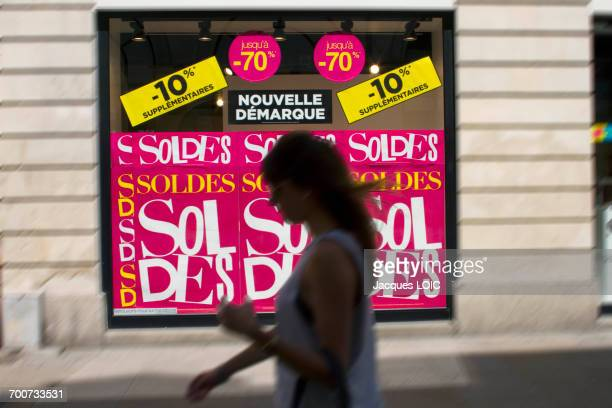 France, Nantes, summer sales, 2014.