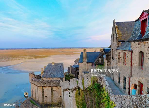 France, Normandy, Mont Saint Michel