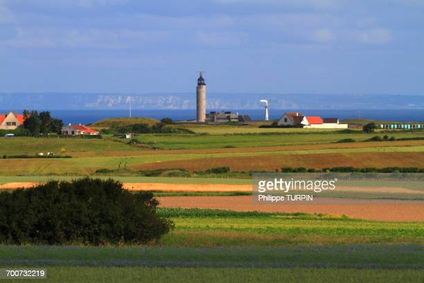france, north coast. cross (operational regional centers of sureveillance and rescue) - semaphore stock pictures, royalty-free photos & images