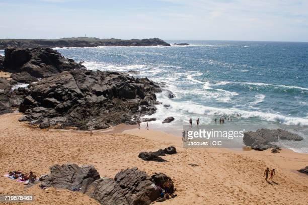 France, North-Western France, Ile dYeu, beach of Ker Daniau