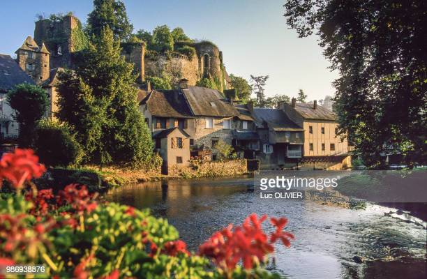 france, nouvelle aquitaine, correze, segur le chateau - correze stock pictures, royalty-free photos & images