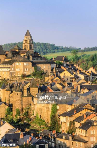 france, nouvelle aquitaine, correze, uzerche - correze stock pictures, royalty-free photos & images